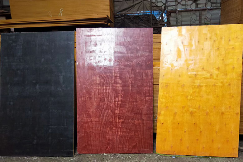 建筑红模板