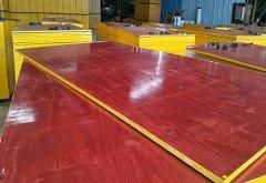 广西建筑红模板8层板
