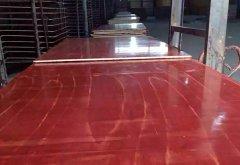 7层清水红面模板