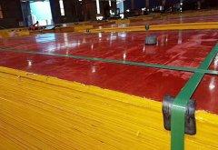 红模板8层建筑木模板