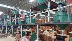 建筑木模板过胶设备
